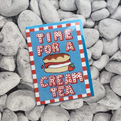 Time For A Cream Tea Greetings Card
